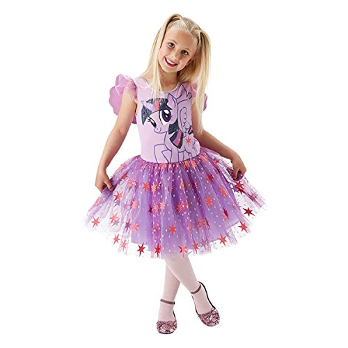 Rubie's 3620100 - MLP Twilight Sparkle Deluxe - Child, Action Dress - Twilight Pony Kostüm