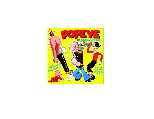 Offizielles Kinder-Popeye das Sailorman-Brettspiel -