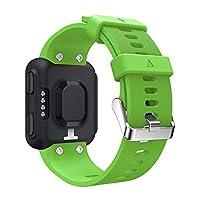 Yeshai3369 Soft Silicone Watchband Wrist Watch Strap Replacement for Garmin Forerunner 35