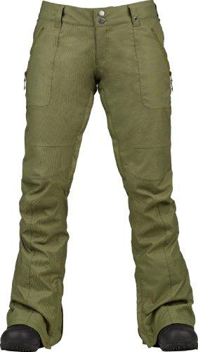 Burton Damen Snowboardhose WB Indulgence Pants, burnt olive, L, 10105100210