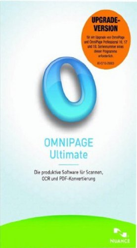 OmniPage Ultimate Upgrade (Download) - Software-download Nuance