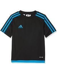 adidas ESTRO 15 JSY Camiseta de Equipación, Hombre, Negro (Azusol), ...
