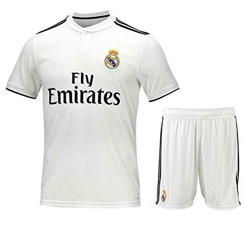 Zhouhuin Fußball-Kits Angepasstes Fußball-Trikot und Shorts Club-Team (Heim und Auswärts) 2018-2019 Neue Saison, mehrere Vereine, beliebiger Name und Nummer -