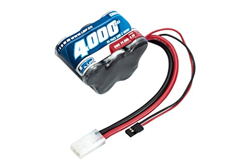 LRP Electronic 430608 - XTEC 1/5 RX-Pack Hump SubC NiMH, Tamiya/JR, 6.0V, 4000 mah Rx Pack