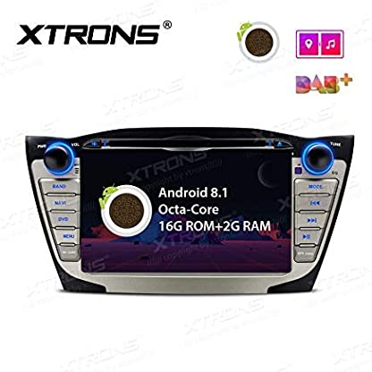 XTRONS-7-Auto-Touchscreen-Autoradio-Auto-DVD-Player-Android-81-Octa-Core-Multimedia-Player-unterstzt-4K-Video-WiFi-4G-Bluetooth50-2GB-RAM-16GB-ROM-DAB-OBD2-TPMS-FR-Hyundai-IX35-Tucson