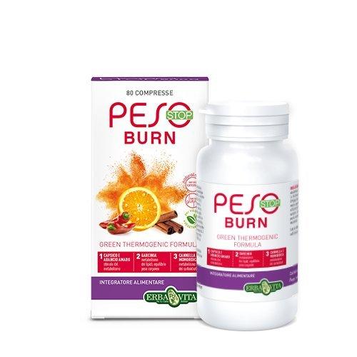 Erba Vita Integratore Alimentare Peso Stop Burn - 80 Ovalette