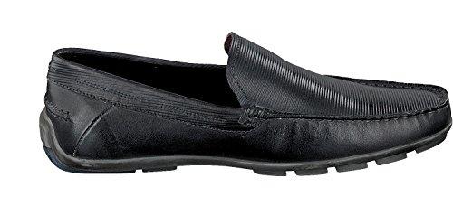 bugatti Hommes Moccasin MARTIN 331-26260-1100 noir schwarz