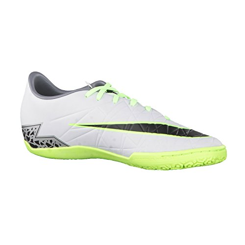 Nike Hypervenom Phelon Ii Ic, Chaussures de Foot Homme Plateado (Plateado (pure platinum/black-ghost green))