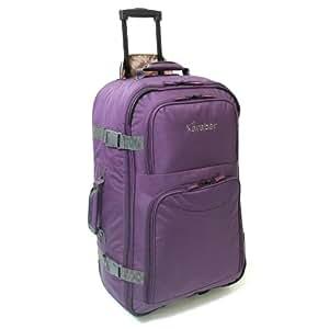 Karabar Anamudi Extra Large Wheeled Cargo Bag (Purple 70L)