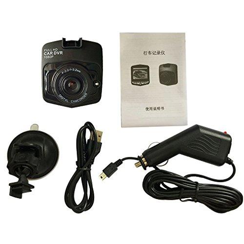 ulable 6,1cm LCD Auto Kamera DVR 720P Fahrzeug Video Recorder Dash Cam fahren Recorder
