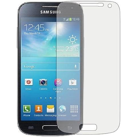 Samsung Galaxy S4 Mini i9190 6 pack Protezione per schermi LCD Guardie Con Panno Di (Telefono Guardia Schermo Custodia In Silicone)