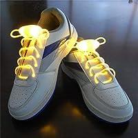 Suncentech Lacci per Scarpe Luminoso 2 Paia Regolabile LED Lacci per Scarpe  Illuminano 09978da9229