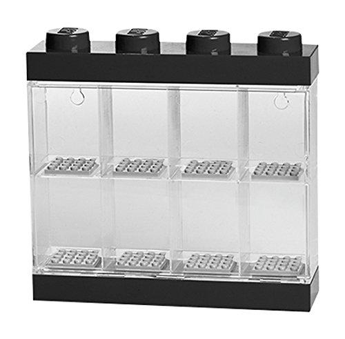 Preisvergleich Produktbild Room Copenhagen RC40650003 Lego Display Case für 8 Minifiguren, schwarz