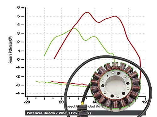 Honda CBR1100XX Blackbird SC35 SC 42 99-08 Powerstator
