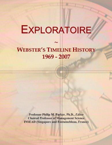 Exploratoire: Webster's Timeline History, 1969 - 2007