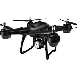 gaeruite Remote Control Drone con batería incorporada, posicionamiento GPS Smart Returning fotografía aérea 1080p WiFi Transmission RC cuadricóptero Drone