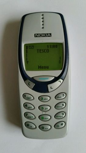 Nokia 3310H weiß B/bès Cover