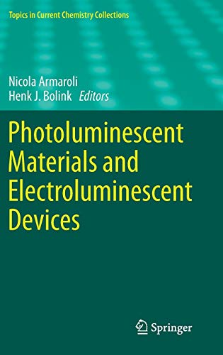 Photoluminescent Materials and Electroluminescent Devices (Topics in Current Chemistry Collections) 1 Ir-emitter