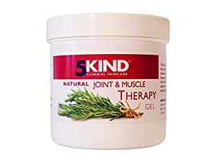 Natural Joint and Muscle Therapy Gel By 5kind Full of Natural Extracts to Help Soothe Muscle Knee Joint Hand Back -Large 300ml Tub