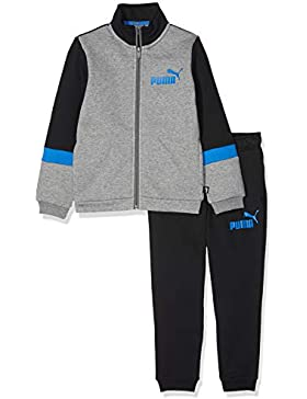 Puma Sweat–Chándal Infantil, Niños, 852544, Cotton Black, 128
