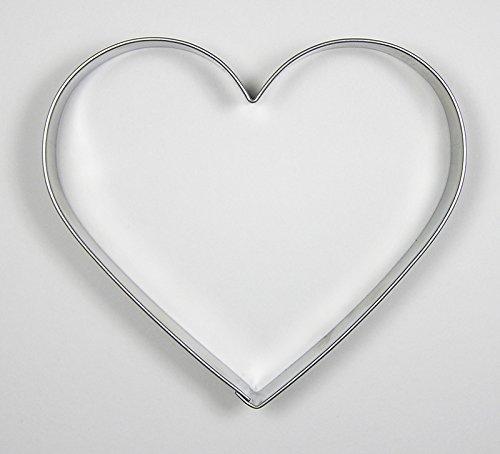 Krifka Ausstecher/Ausstechform Herz 9,5 cm Edelstahl