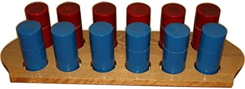 Generic Montessori-Sensonrial-Smelling Bottles With Wooden Stand