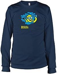 TEXLAB - Nevermind Banana - Langarm T-Shirt