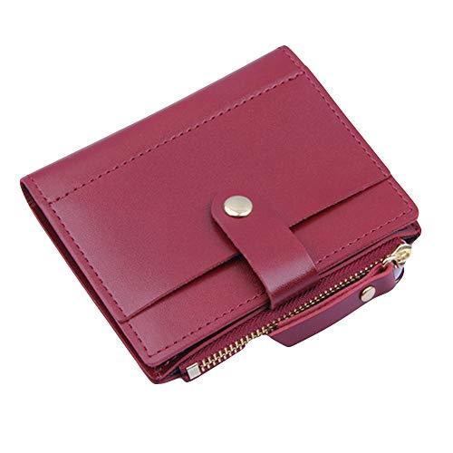 ALIKEEY Fashion Women Wallet Lovely Candy Color Small Coin Zipper Purse Card Package