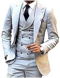 Amazon.it  Argento - Abiti e giacche   Uomo  Abbigliamento 69752e6833e