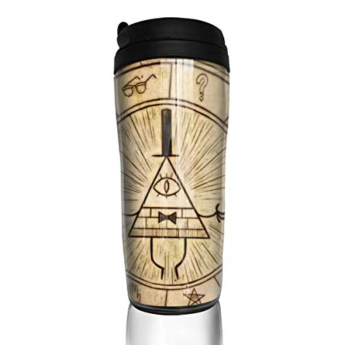 Rwwrewre Unisex Food Grade ABS Travel Mugs Our Iris Gravity Falls by Coffee Thermal Tumbler Cups