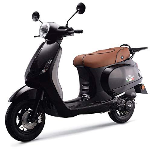 Preisvergleich Produktbild iVA Motorroller LUX Euro-4-Norm 25km / h schwarz