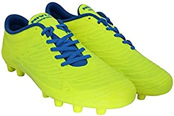 Nivia Dominator 1158GR07 Football Studs, UK 7 (Yellow)
