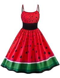 806114f365 Amazon.es  sandia - Vestidos   Mujer  Ropa