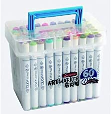 HS Superior Art Dual Tip Markers (Set of 60)