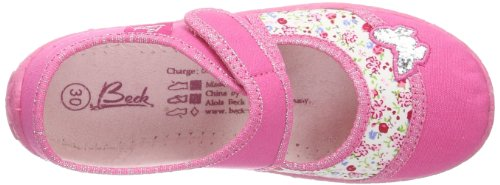 Beck Papillon, Chaussons Doublé Chaud Fille Rose (pink 06)