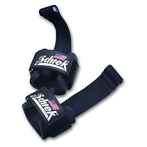 Schiek Sports Zughilfen mit Handgelenkschutz & Dübel Modell 1000DLS