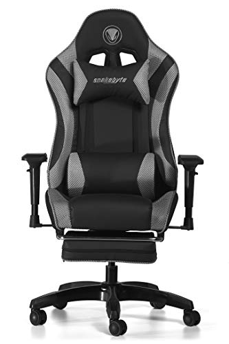Snakebyte Universal Premium GAMING:SEAT - Stuhl - Racing Chair - für Gaming Sessions - grau/schwarz [ ]