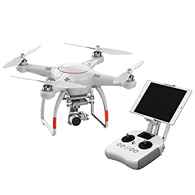 Autel X-Star Premium Camera Drone With 4K HD Live Video Camera & Carry Case Including 64GB Memory Card (White) by Autel from Autel