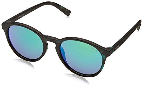 Polaroid Unisex-Kinder PLD 8024/S 5Z PHW Sonnenbrille, Grün (Havana Grey Mlt Green), 47