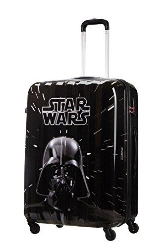 American tourister – Disney Star Wars Legends – Maleta Spinner 75/28 Joytwist, 75 cm, 88 L, 4.3 KG Multicolour (Star Wars Neon)