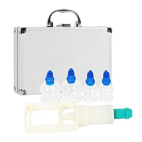 QYJY Cupping Vakuum Schröpfen Set Massage Saugnäpfe für Hilfe zur Muskelentlastung, Gelenkschmerzen, Blutkreislauf Fördern, Abgaskörper-Toxin