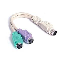 Startech Com 6In Ps2Tastatur Maus Splitter Kabel Adapter