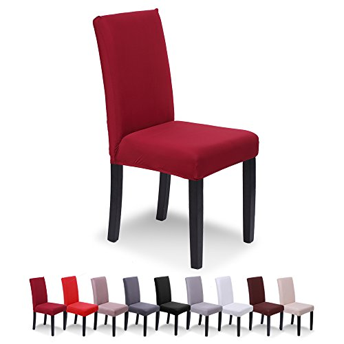 SaintderG® Fundas sillas Pack 6 Fundas sillas Comedor
