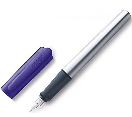 Lamy Nexx Füllfederhalter - Modell 091 - violett - Feder: M (mittel) - Rechtshänder (091 Violett)