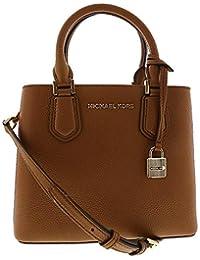 45a7d2b19df8 Michael Kors Women s Adele Medium Leather Messenger Bag Cross Body