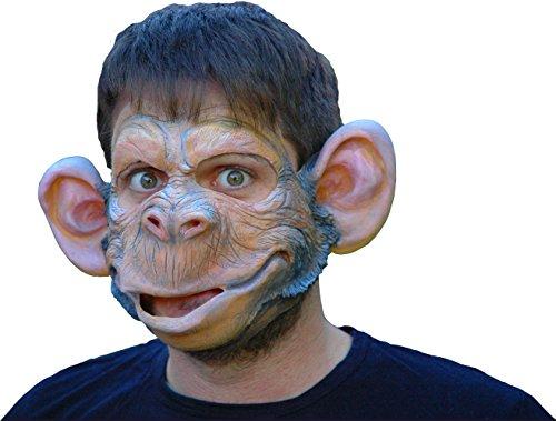 Dr. Affenzahn Partymaske (Kostüm Maske Schimpanse)