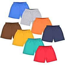 Luke and Lilly Kids Cotton Shorts for Boys and Girls Combo