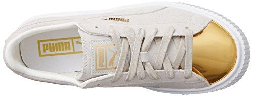 Puma - Puma Suede Platform Gold 001 white - gold