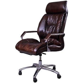 b rosessel belford vintage cigar b ro stuhl drehstuhl k che haushalt. Black Bedroom Furniture Sets. Home Design Ideas