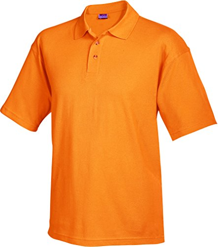 James & Nicholson Herren Poloshirt Worker Polo Orange (Orange)